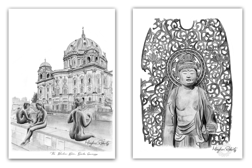 Berliner Dom and Budha