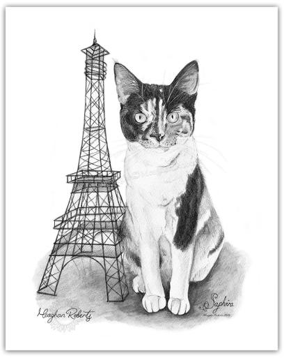 Saphira BW Eiffel Tower CR